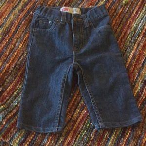 Levi jeans infant 6-9 m euc